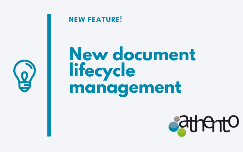 New Document Lifecycle Management