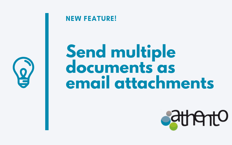 Now It's Possible to Send Multiple Documents as Email Attachments