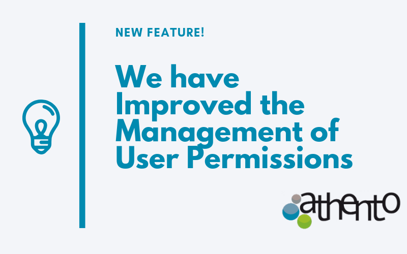 We have Improved the Management of User Permissions