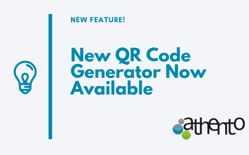 The New QR Code Generator Feature is Now Available