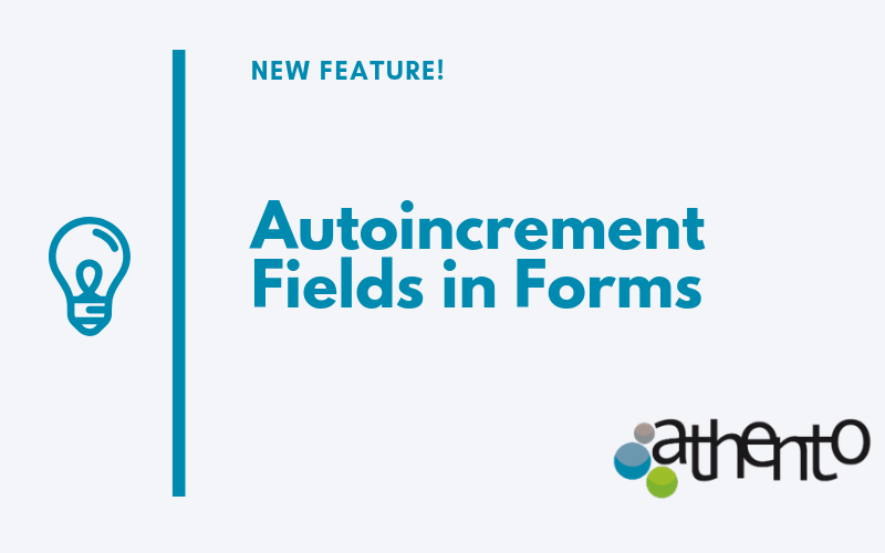 Adding Autoincrement Fields to Forms is Now Much Easier