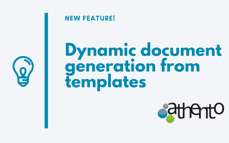 Generating Documents from Templates is Now Much Easier